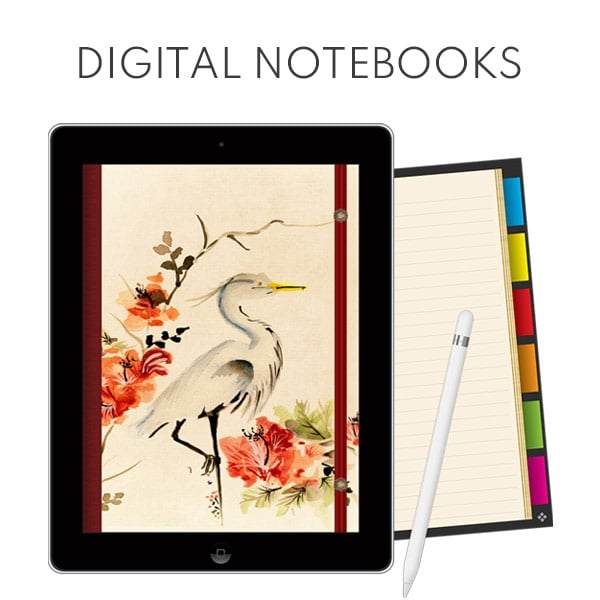 digital notebook for goodnotes ipad planner